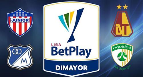 Sigue EN VIVO las semifinales de la Liga BetPlay AQUI