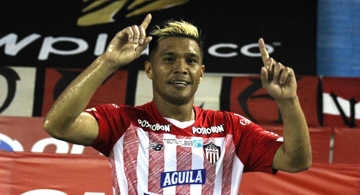 Teófilo Gutiérrez ya no seguiría en la filas de Junior de Barranquilla. Foto: Twitter @JuniorClubSA