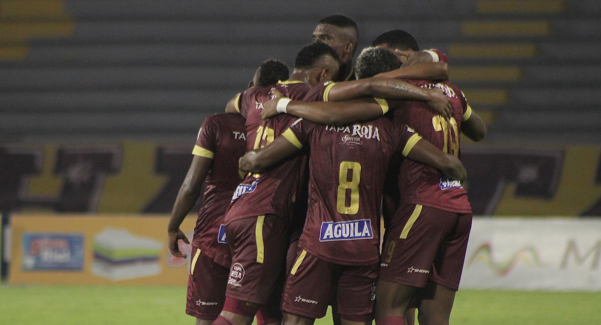 Deportes Tolima no logró derrotar en su casa del Murillo Toro a Equidad y viajará a Bogotá con la idea de vencer a los aseguradores para pasar a la final de la Liga BetPlay. Foto: Twitter @WinSportsTV