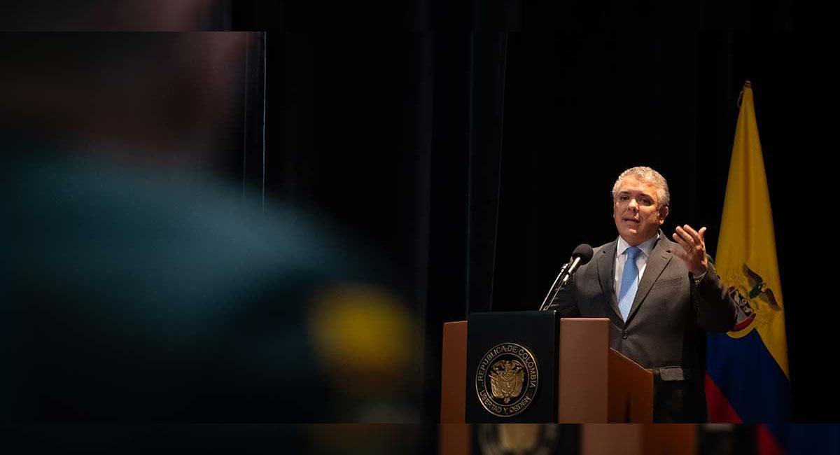 Iván Duque, presidente de Colombia. Foto: Youtube Presidencia Colombia