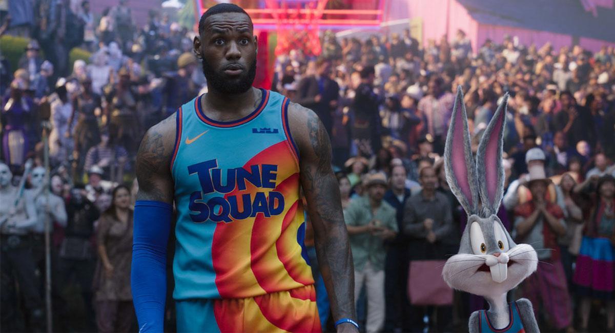"""LeBron James y Bugs Bunny serán los protagonistas de """"Space Jam: A New Legacy"""". Foto: Twitter @spacejammovie"""