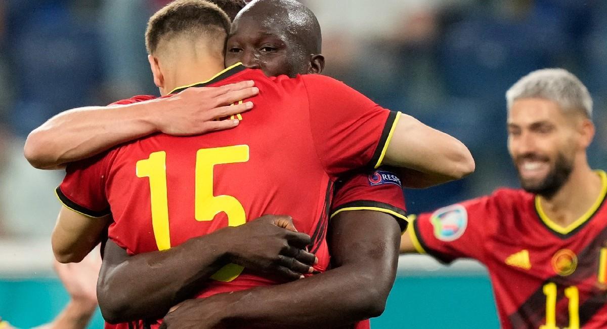 Lukaku fue una de las figuras de Bélgica en la goleada a Rusia. Foto: EFE