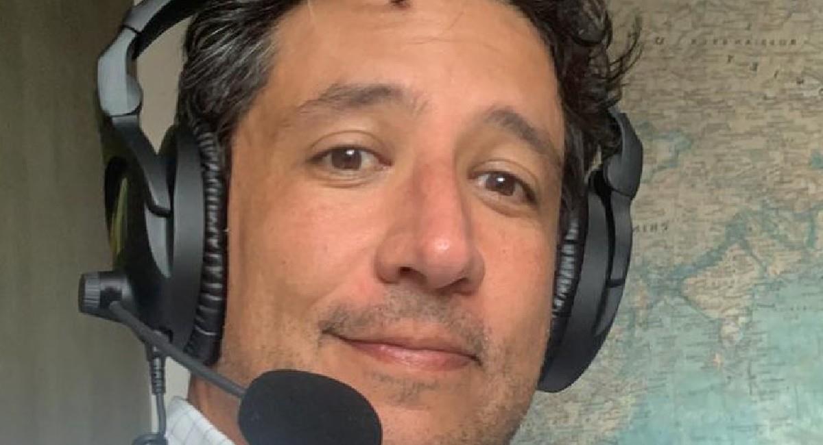Antonio Casale, periodista deportivo. Foto: Instagram @casaleantoniod