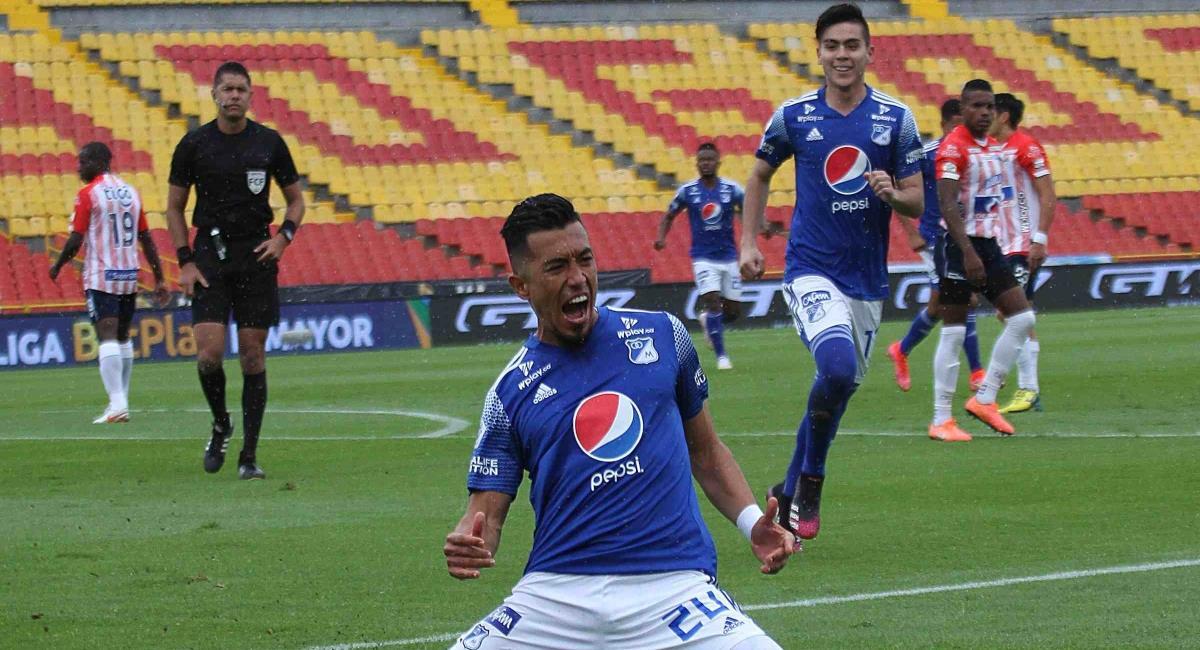 Millonarios clasificó a la final. Foto: Twitter Prensa redes Dimayor.