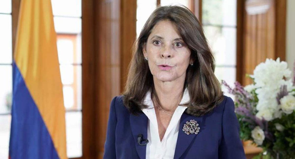Viceministra y Canciller de Colombia, Marta Lucía Ramírez. Foto: Twitter