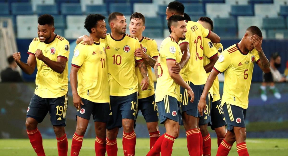 Colombia venció a Ecuador en su debut. Foto: EFE