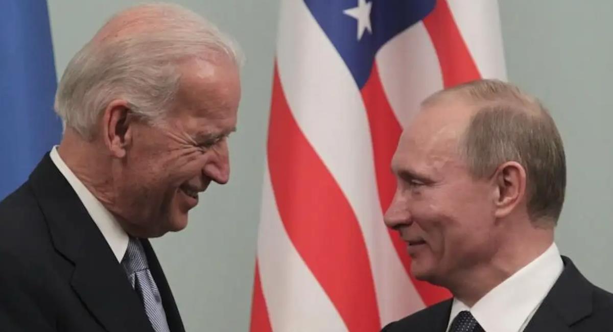 Este 16 de junio Biden y Putin estarán cara a cara en Ginebra. Foto: EFE
