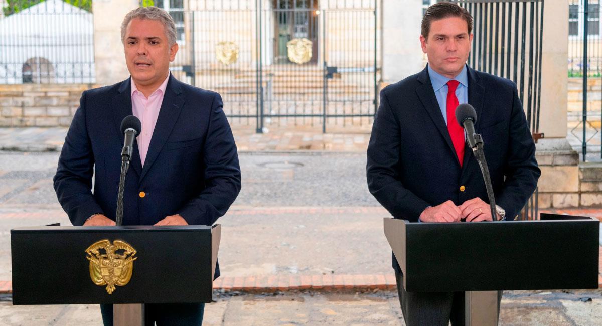 Juan Carlos Pinzón de nuevo embajador en EE.UU. Foto: EFE