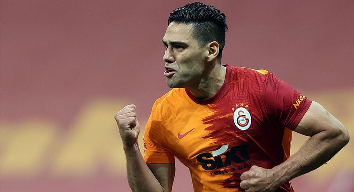 Falcao García no pudo participar de los entrenamientos de Galatasaray. Foto: Twitter @Galatasaray