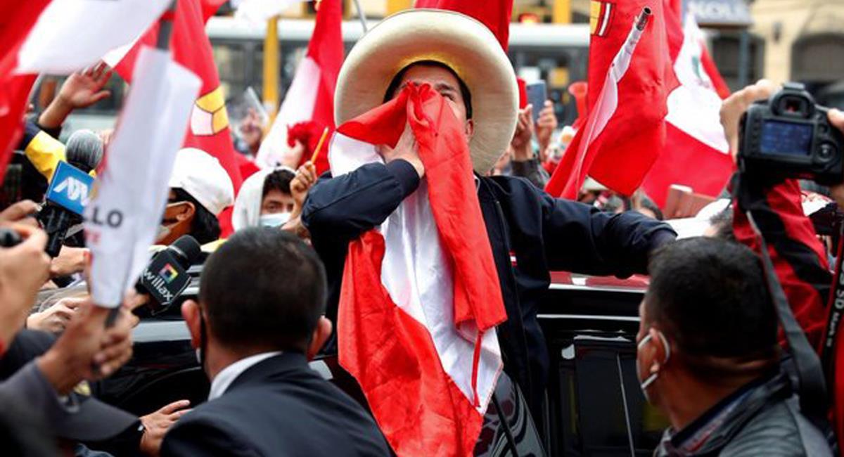 José Pedro Castillo Terrones aventajó en el conteo de votos a Keiko Fujimori con 44.058 sufragios. Foto: Twitter @OVargas52