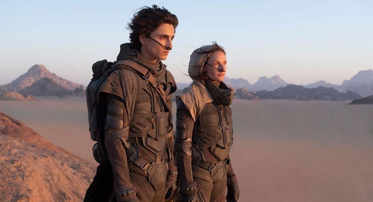 """""""Dune"""" es una de las grandes apuestas de Warner Bros para los próximos meses. Foto: Twitter @elhyp3"""