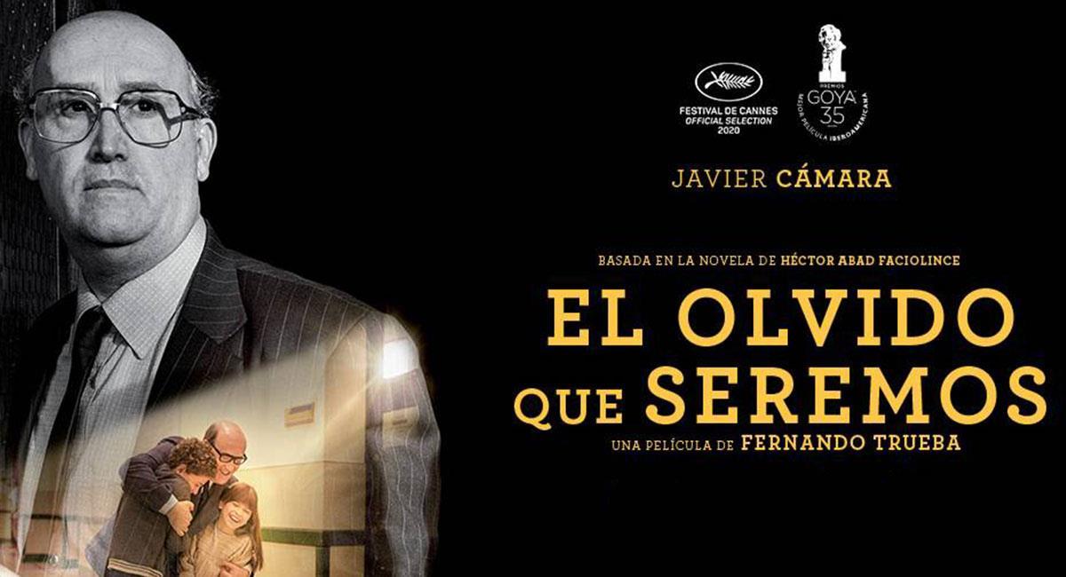 """""""El Olvido Que Seremos"""" llegó esta semana a las salas de cine del país. Foto: Twitter @Cine_Colombia"""