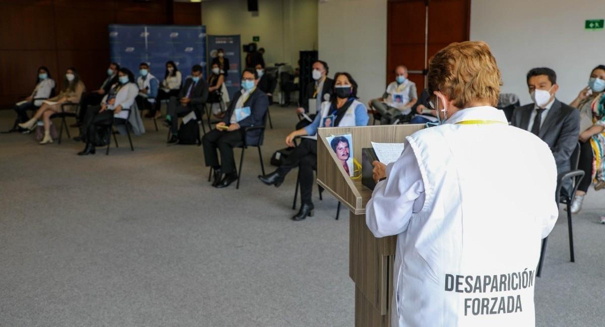 Continúa la búsqueda de desaparecidos. Foto: Facebook Jurisdicción Especial para la Paz.
