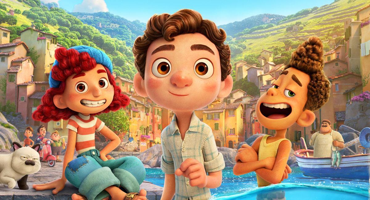 """""""Luca"""" no tendrá su estreno en cines debido a la pandemia del coronavirus. Foto: Twitter @Pixar"""