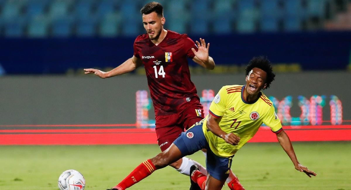 Sigue EN VIVO Colombia vs. Venezuela por Copa América. Foto: EFE