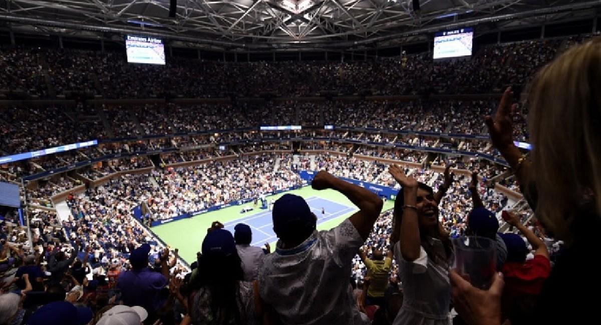 El US Open 2021 tendrá público. Foto: Twitter @usta