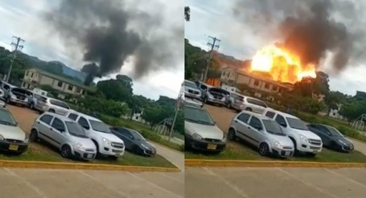 36 heridos fue el saldo de la explosión de un carro bomba el martes en la Brigada 30 del Ejército en Cúcuta. Foto: Twitter @MarkKennedy721
