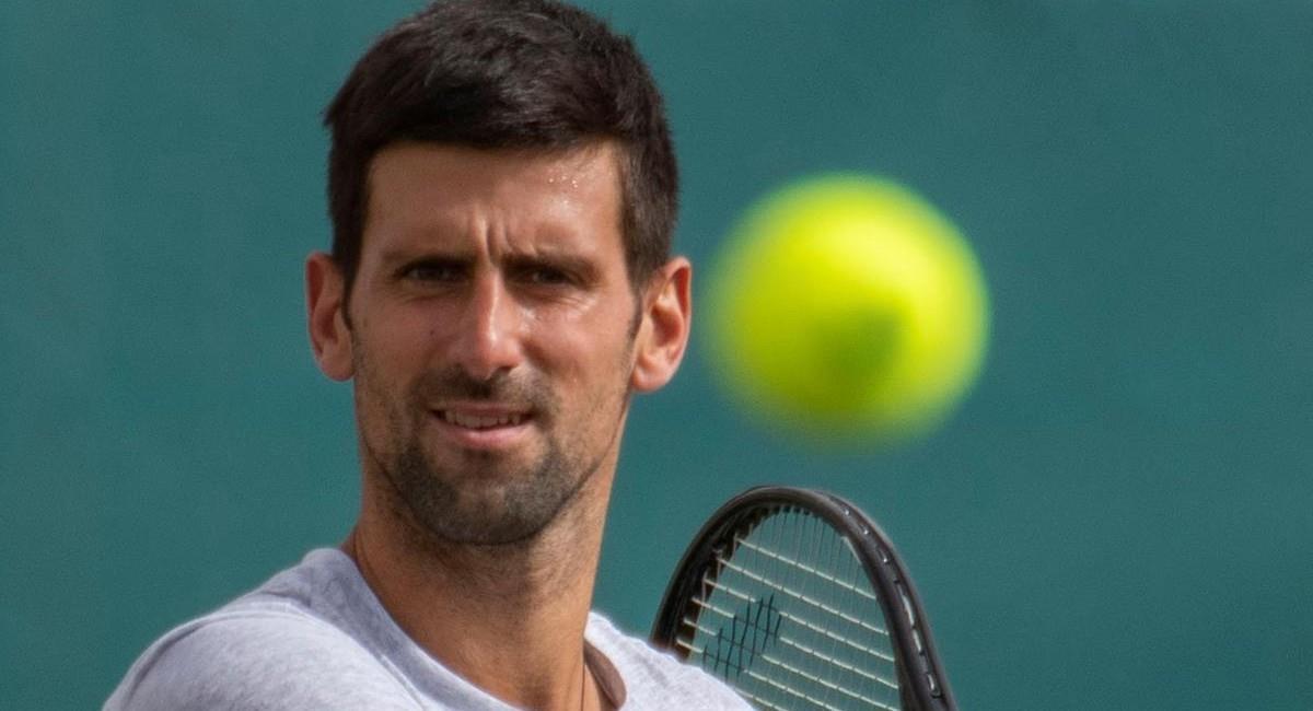Novak Djokovic, tenista número uno del mundo. Foto: EFE