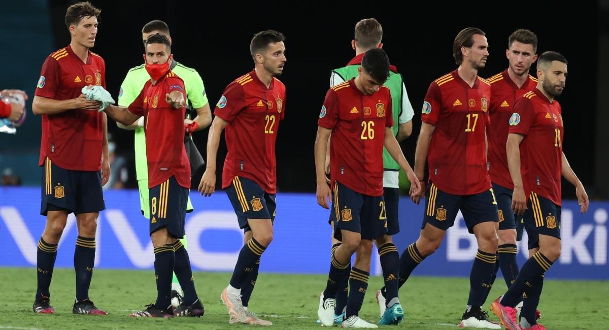 España empató con Polonia en la Eurocopa. Foto: EFE