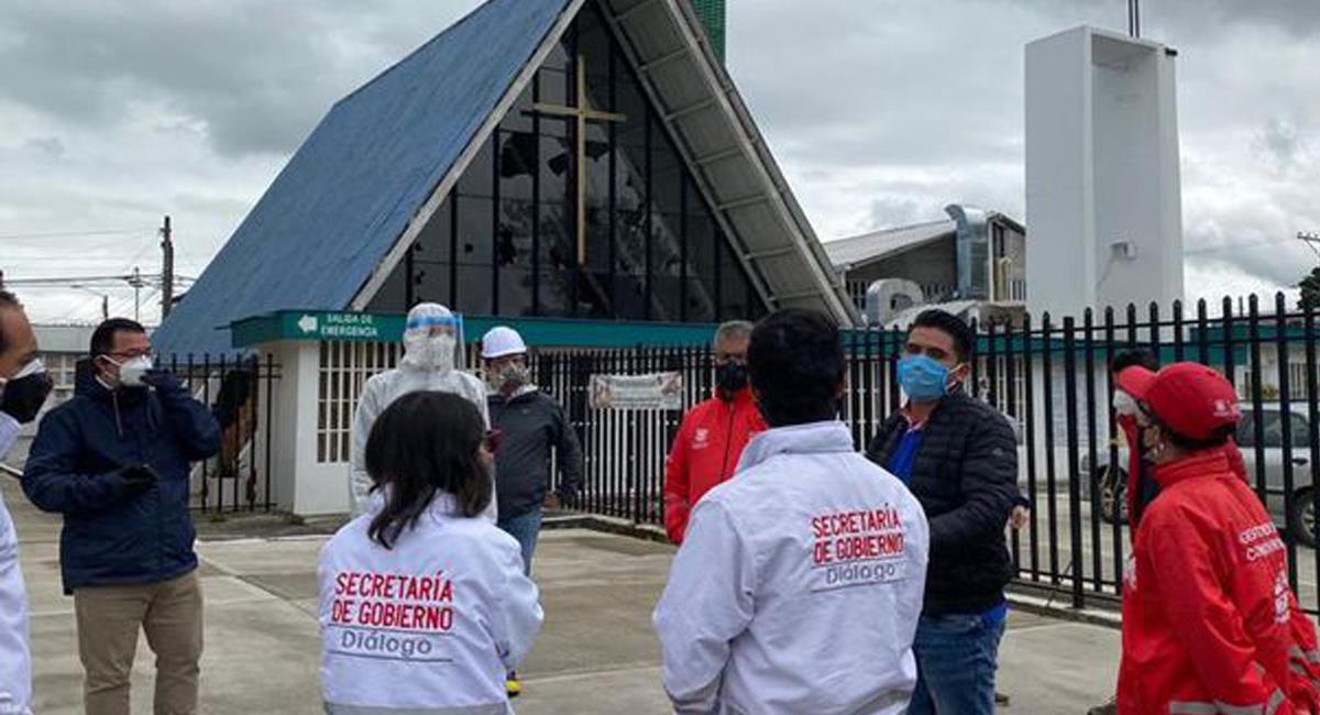 La Secretaría de Salud de Bogotá negó el colapso de los hornos crematorios en la ciudad. Foto: Twitter @elespectador