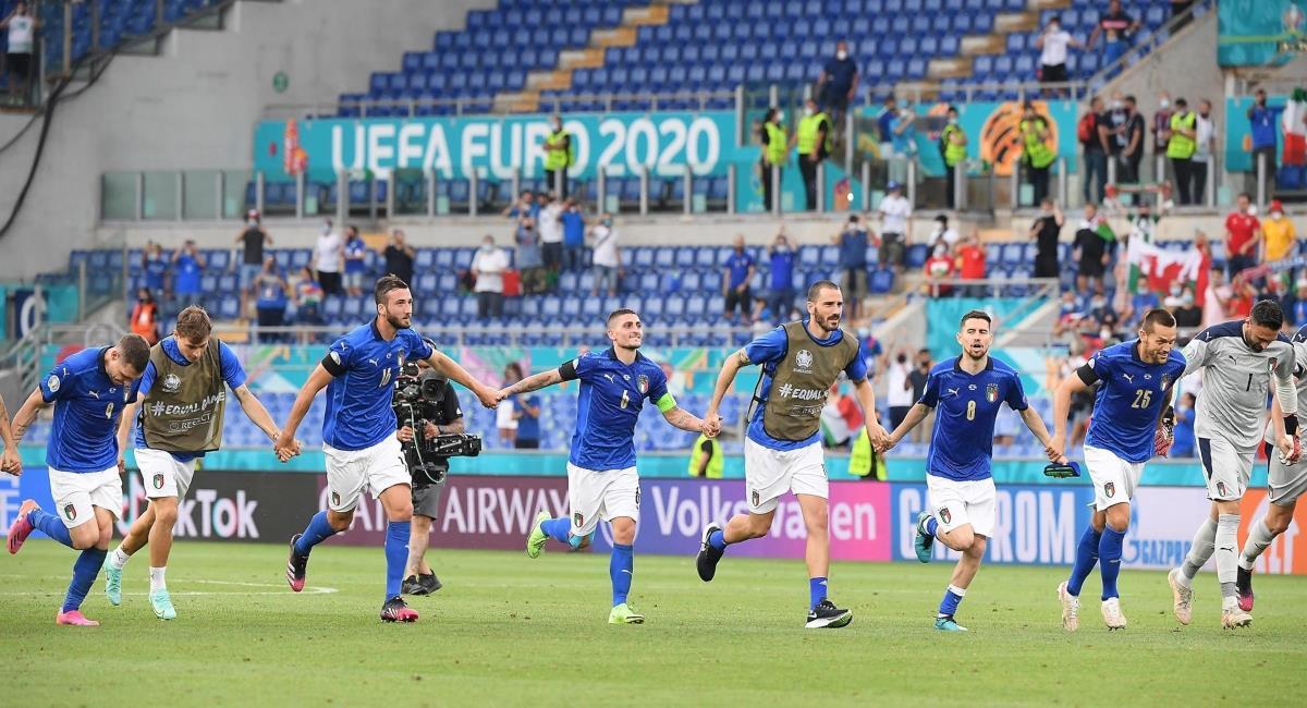 Italia se clasifica líder del grupo A. Foto: EFE