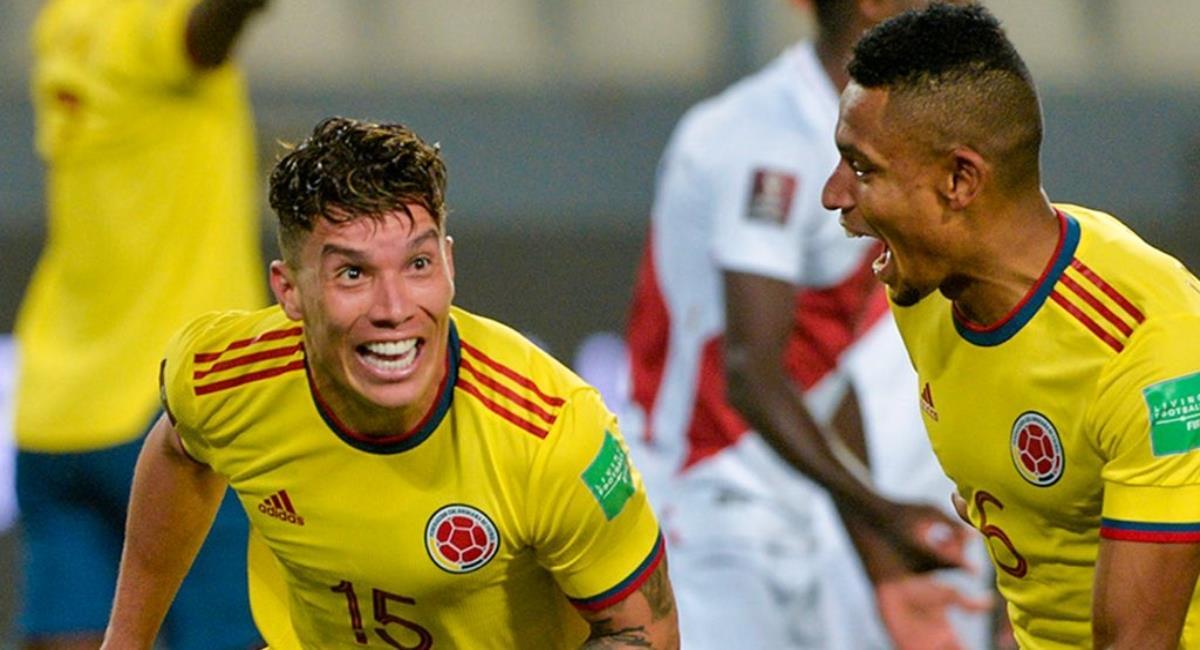 Sigue en vivo el juego de la Selección Colombia vs Perú. Foto: Twitter Prensa redes Selección Colombia.