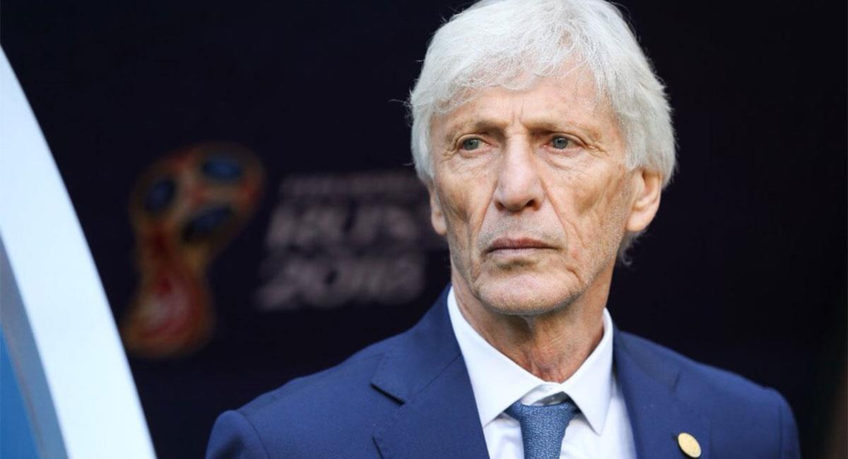 José Pékerman dejó de ser el técnico de Colombia tras el Mundial de Rusia 2018. Foto: Twitter @FCFSeleccionCol