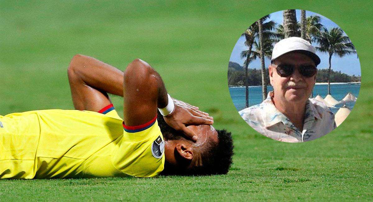 Iván Mejía criticó el mal juego mostrado por la Selección Colombia ante Perú. Foto: EFE /Twitter @PajaritoDeIvan