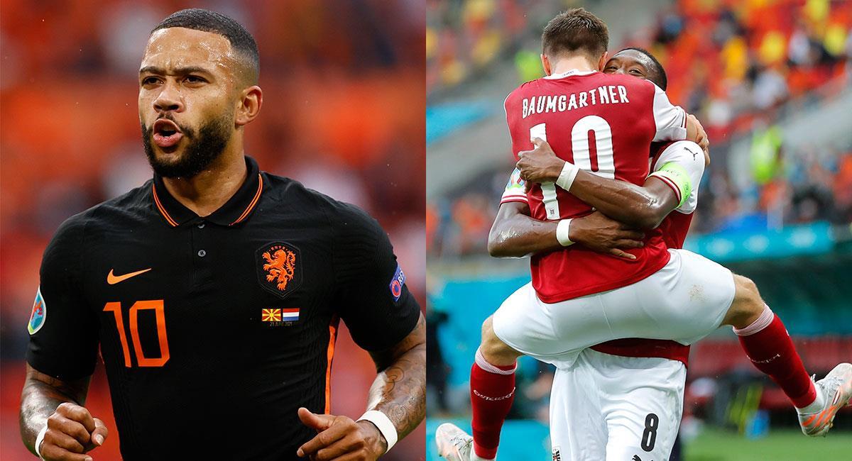 Países Bajos y Austria aseguraron su cupo en los octavos de final de la Euro 2020. Foto: EFE