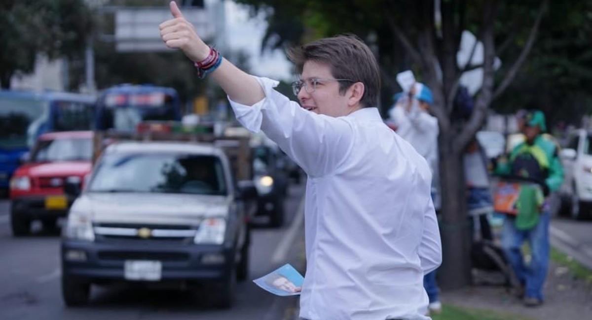 El excandidato a la Alcaldía ahora va por 150 millones. Foto: Facebook Miguel Uribe Turbay