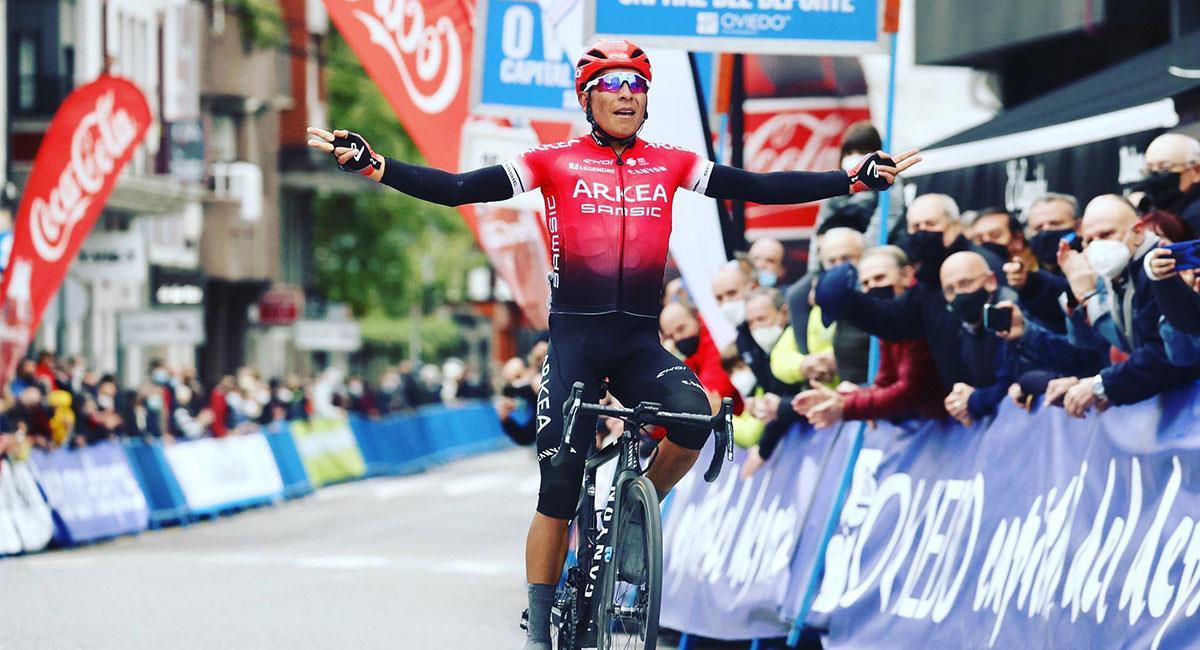 Nairo Quintana espera tener una buena actuación en el Tour de Francia 2021. Foto: Twitter @Arkea_Samsic