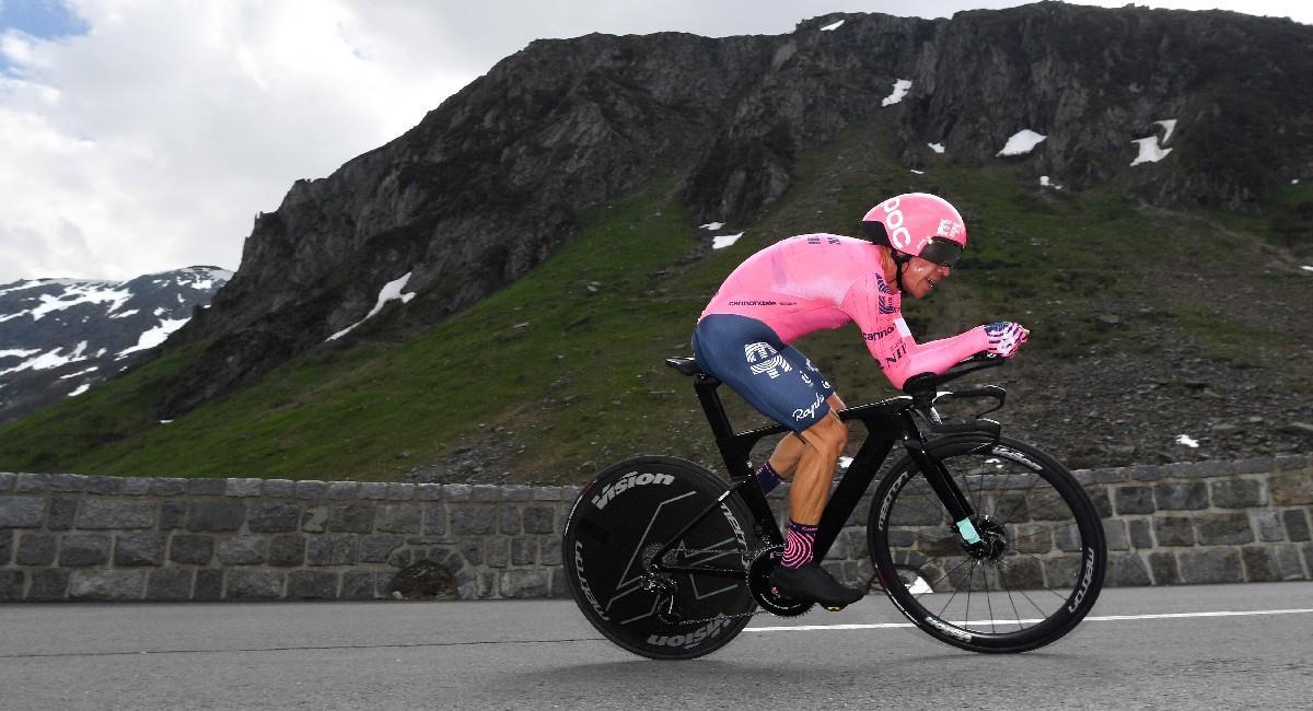 Rigoberto Urán estará en el Tour de Francia 2021. Foto: Twitter @EFprocycling