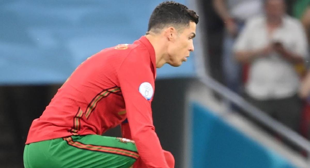 Cristiano Ronaldo es el capitán de la Selección de Portugal en la Euro 2020. Foto: EFE