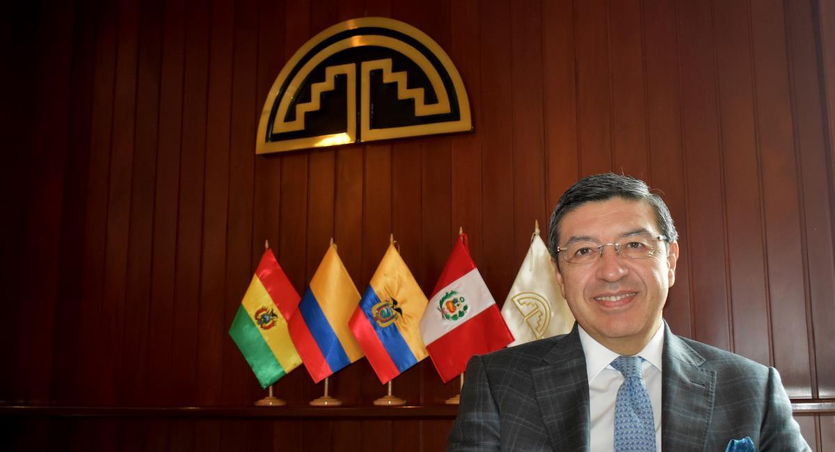 Jorge Hernando Pedraza, Secretario General de la Comunidad Andina. Foto: Comunidad Andina