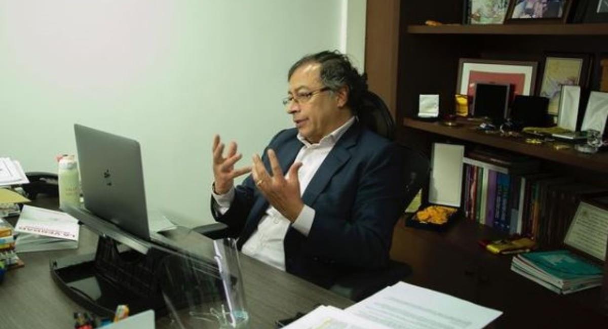 Gustavo Petro, político y economista. Foto: Instagram @gustavopetrourrego.