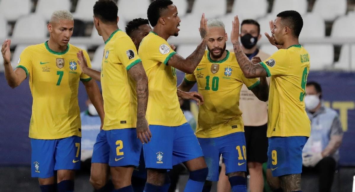 Brasil es gran favorito para derrotar a Colombia. Foto: EFE