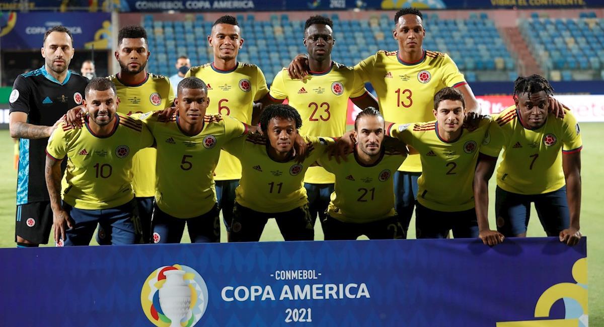 Posible alineación Colombia vs Brasil Copa América. Foto: EFE
