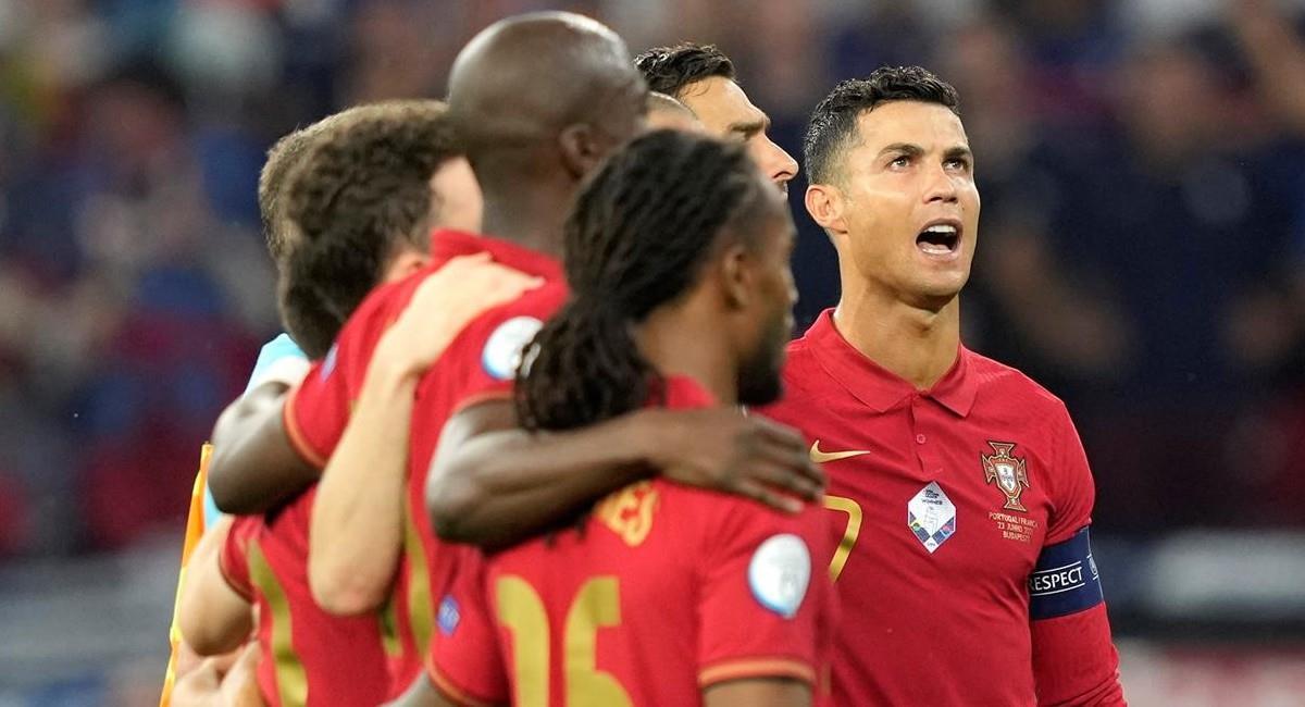 Cristiano Ronaldo lideró a Portugal en el partido ante Francia. Foto: EFE
