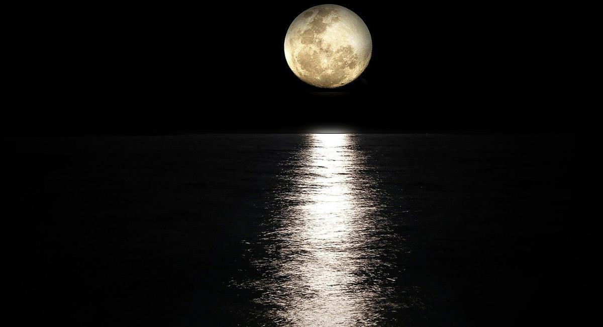 El brillo y la luminosidad de la Superluna será visible pasadas las 10:00 de la noche. Foto: Pixabay