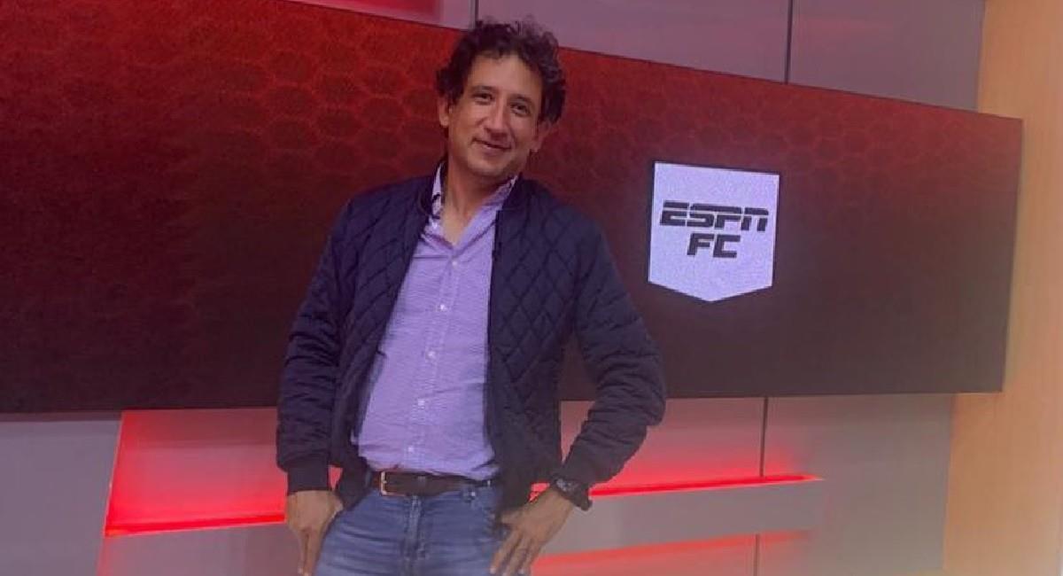 Antonio Casale, presentador en ESPN Colombia. Foto: Instagram
