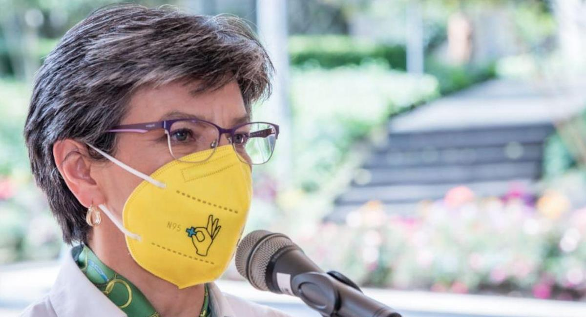 Claudia López dice que no aceptará el vandalismo en la ciudad. Foto: Alcaldía de Bogotá