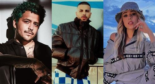 Confirman la actuación de Christian Nodal, Rauw Alejandro y Danna Paola en los MTV MIAW