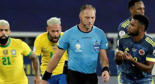 El Var Gol Roberto Firmino Brasil Néstor Pitana