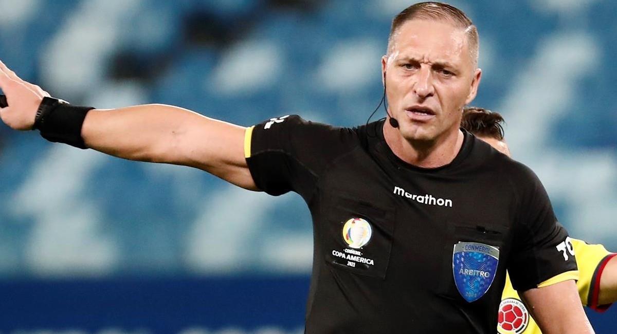 Néstor Pitana, árbitro FIFA. Foto: EFE