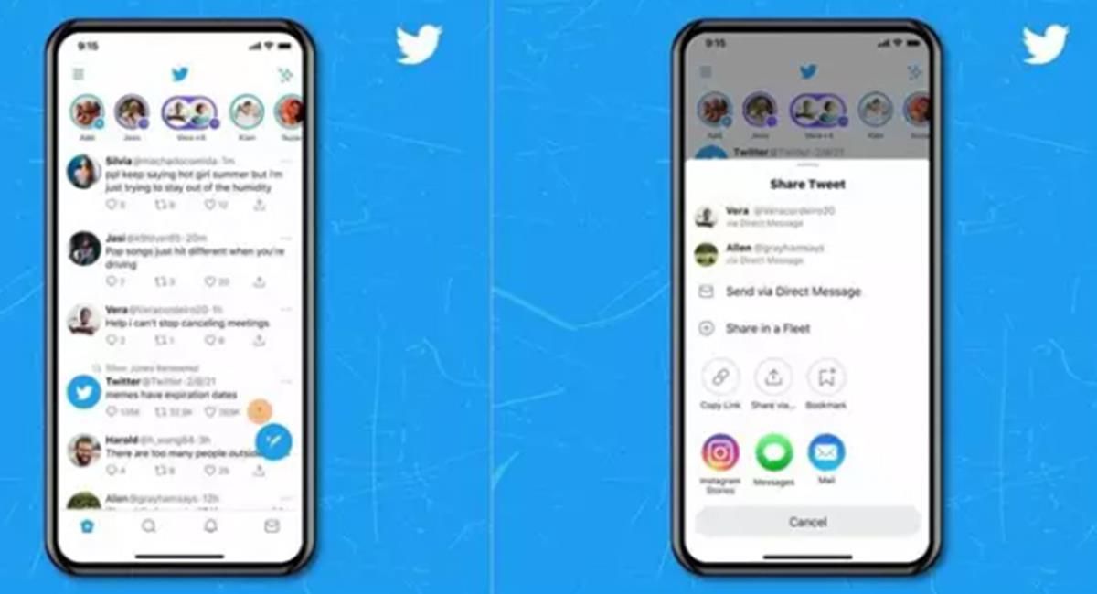 Por ahora, la actualización estará disponible para los usuarios iOS. Foto: Twitter