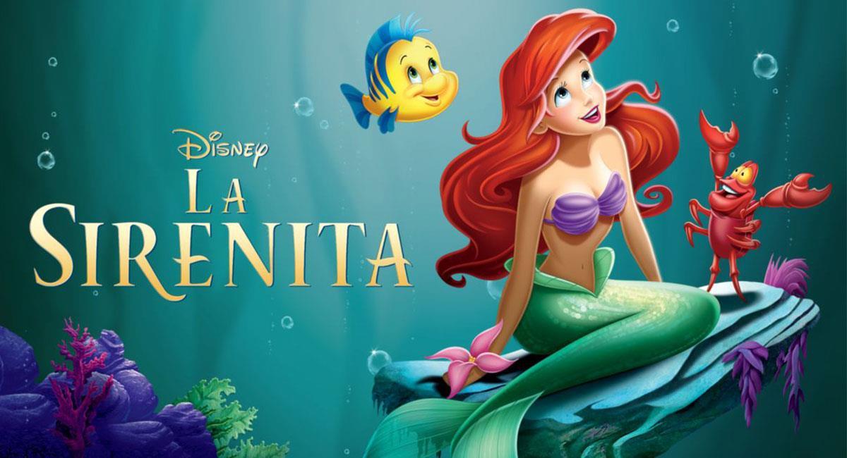 """""""La Sirenita"""" es uno de los grandes clásicos de Disney. Foto: Twitter @Disney"""