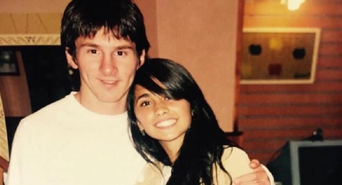 Antonela Rocuzzo celebró con esta foto el cumpleaños de Lionel Messi. Foto: Instagram @antonelarocuzzo