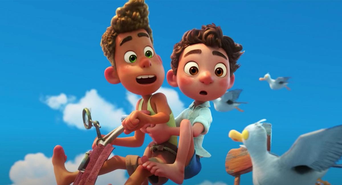 """""""Luca"""" es la más reciente película de Disney y Pixar. Foto: Twitter @PixarLuca"""