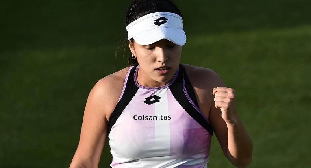 María Camila Osorio quiere estar en el cuadro principal de Wimbledon. Foto: Twitter @fedecoltenis