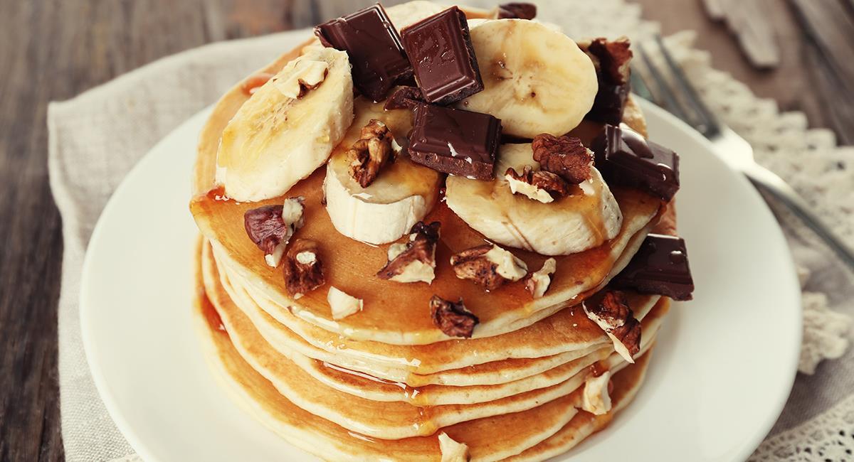 Los Panqueques son una excelente opción de desayuno o merienda. Foto: Shutterstock